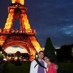 Couple tour Eiffel