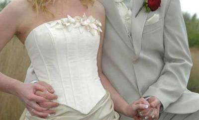 Photo d'un couple qui se marie