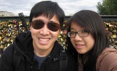 Pont des arts et selfies