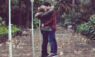 Embrasser un garçon