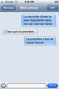 SMS d'amour 2