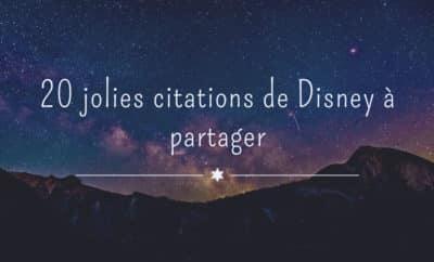 Citation de Disney